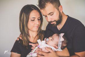 Fotografía natural de recién nacidos|Fotógrafo newborn Logroño|Maia