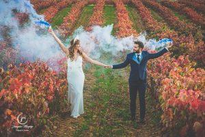 Reportaje de Postboda de Leticia y Roberto entre viñas en La Rioja